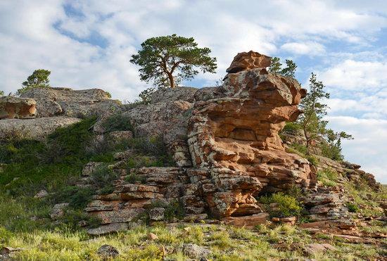Bizarre Rocks of the Kent Mountains, Kazakhstan, photo 21