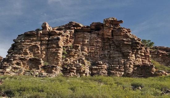Bizarre Rocks of the Kent Mountains, Kazakhstan, photo 22