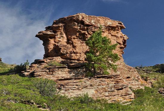 Bizarre Rocks of the Kent Mountains, Kazakhstan, photo 23