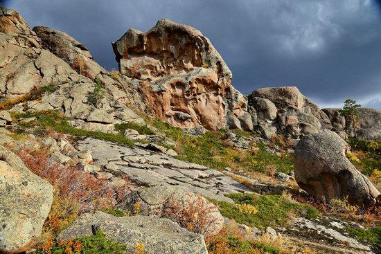 Bizarre Rocks of the Kent Mountains, Kazakhstan, photo 24