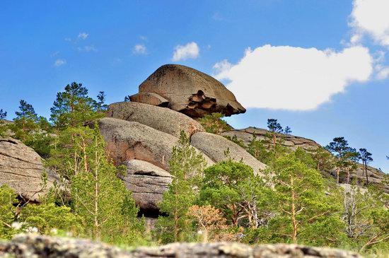 Bizarre Rocks of the Kent Mountains, Kazakhstan, photo 3