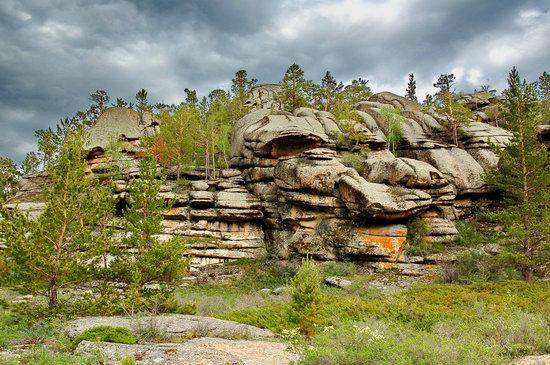 Bizarre Rocks of the Kent Mountains, Kazakhstan, photo 4