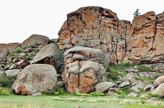 Bizarre Rocks of the Kent Mountains, Kazakhstan, photo 6
