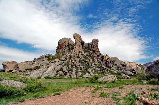 Bizarre Rocks of the Kent Mountains, Kazakhstan, photo 7
