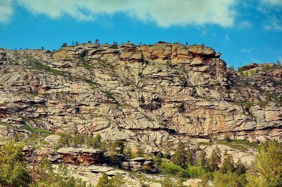 Bizarre Rocks of the Kent Mountains, Kazakhstan, photo 8