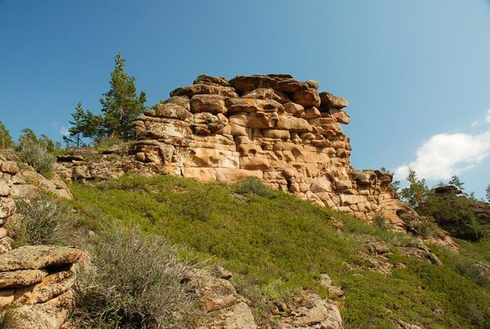 Bizarre Rocks of the Kent Mountains, Kazakhstan, photo 9