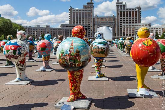 Walking through the center of Astana, Kazakhstan, photo 19