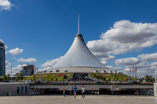 Walking through the center of Astana, Kazakhstan, photo 22