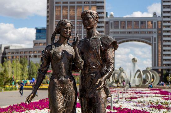 Walking through the center of Astana, Kazakhstan, photo 23