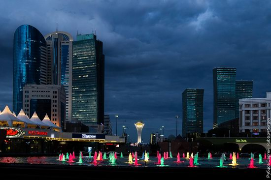 Walking through the center of Astana, Kazakhstan, photo 25