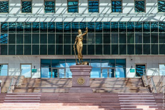 Walking through the center of Astana, Kazakhstan, photo 7