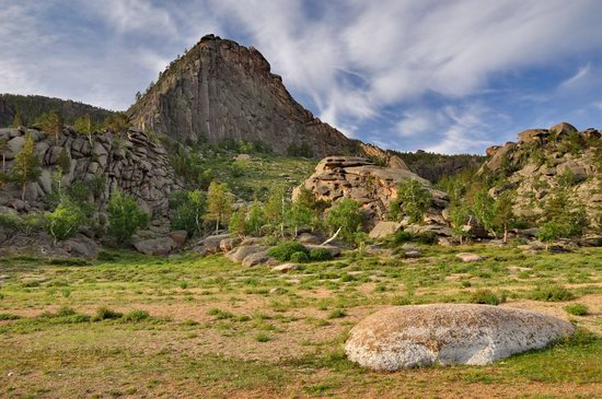 Picturesque landscapes of Bayanaul Mountains, Kazakhstan, photo 14