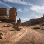 Valley of Castles in Charyn Canyon