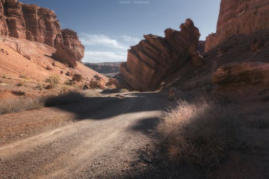 Valley of Castles in Charyn Canyon, Kazakhstan, photo 10