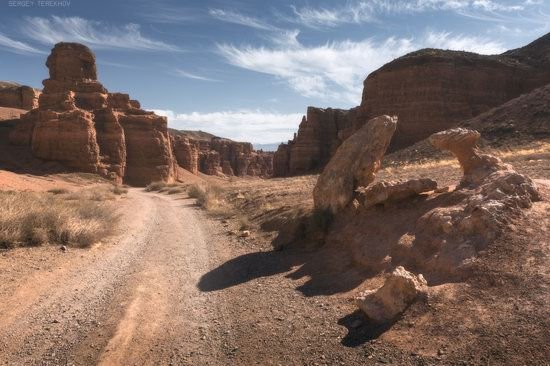 Valley of Castles in Charyn Canyon, Kazakhstan, photo 2