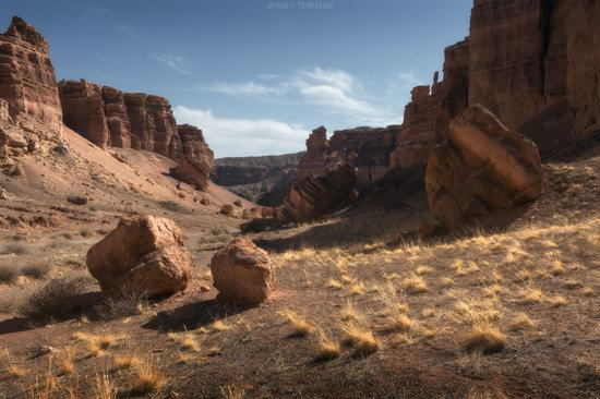 Valley of Castles in Charyn Canyon, Kazakhstan, photo 7