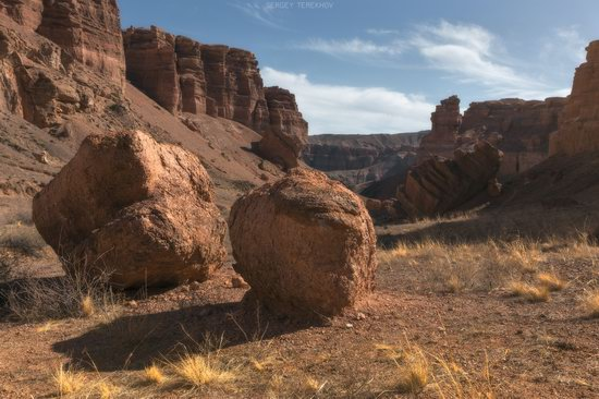 Valley of Castles in Charyn Canyon, Kazakhstan, photo 8