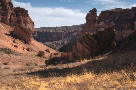 Valley of Castles in Charyn Canyon, Kazakhstan, photo 9
