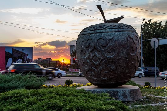 Walk around the center of Almaty, Kazakhstan, photo 12