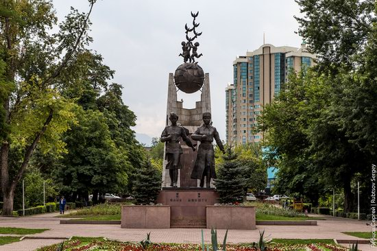 Walk around the center of Almaty, Kazakhstan, photo 17