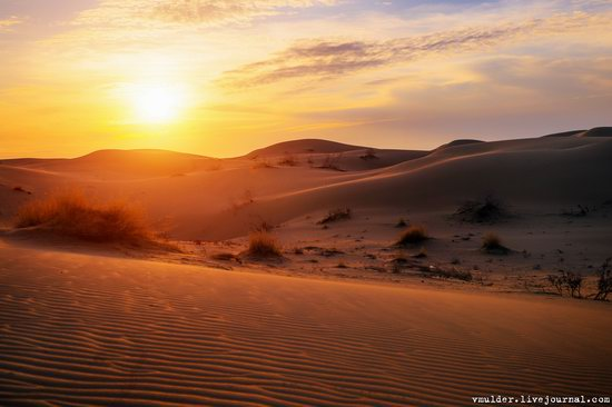 Senek Sands desert in the Mangystau region, Kazakhstan, photo 17