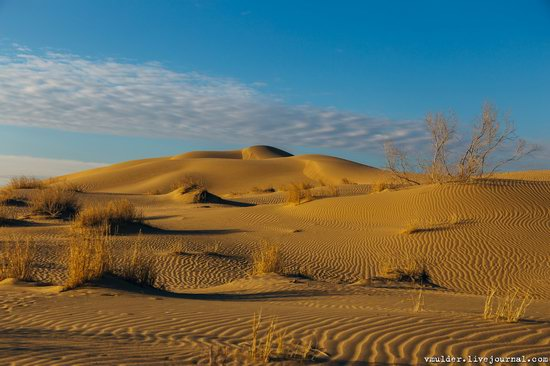 Senek Sands desert in the Mangystau region, Kazakhstan, photo 6