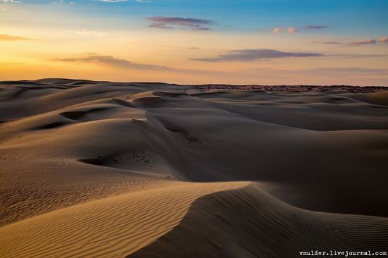 Senek Sands desert in the Mangystau region, Kazakhstan, photo 9