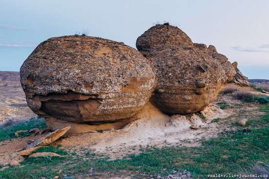 Valley of Stone Balls on Mangyshlak Peninsula, Kazakhstan, photo 16