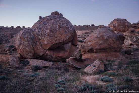 Valley of Stone Balls on Mangyshlak Peninsula, Kazakhstan, photo 20