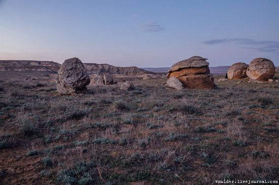 Valley of Stone Balls on Mangyshlak Peninsula, Kazakhstan, photo 22