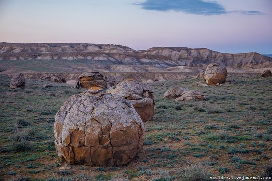 Valley of Stone Balls on Mangyshlak Peninsula, Kazakhstan, photo 9