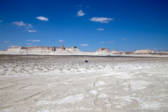 Picturesque Chalk Landscapes of Boszhira, Kazakhstan, photo 18