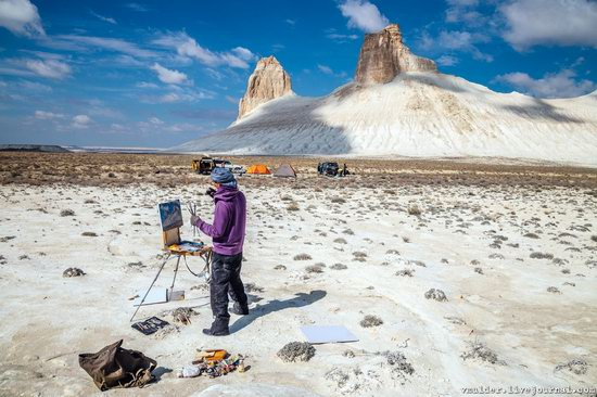 Picturesque Chalk Landscapes of Boszhira, Kazakhstan, photo 5