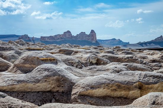 Picturesque Chalk Landscapes of Boszhira, Kazakhstan, photo 6