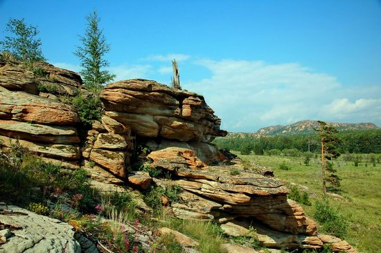 Picturesque Landscapes of the Karkaraly Mountains, Kazakhstan, photo 6