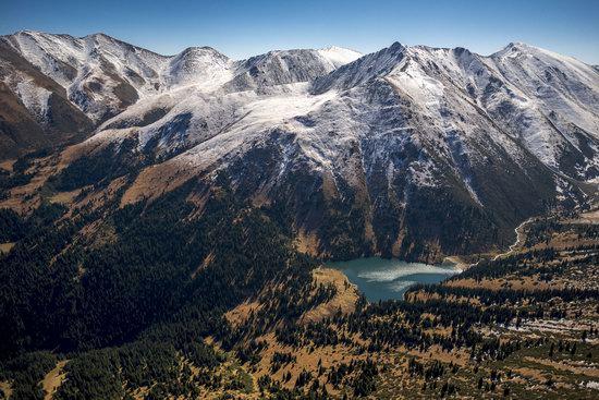 Upper Kolsay Lake, Kazakhstan
