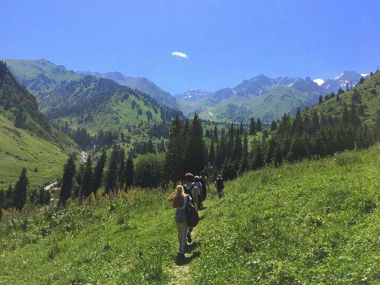 Hiking in Gorelnik Gorge, Kazakhstan, photo 1