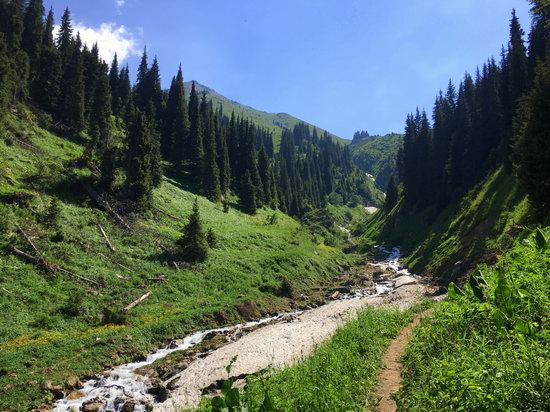 Hiking in Gorelnik Gorge, Kazakhstan, photo 13