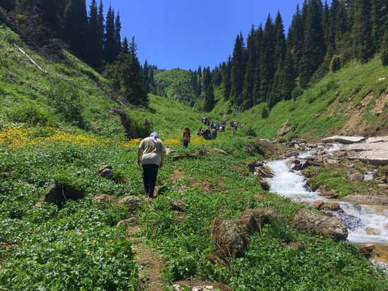 Hiking in Gorelnik Gorge, Kazakhstan, photo 3
