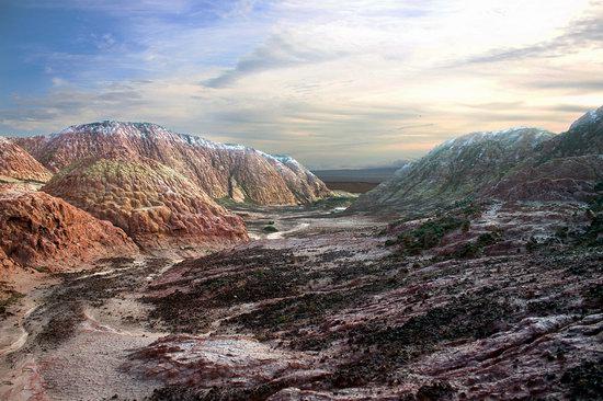 Landscapes of Kiin Kirish Valley, Kazakhstan, photo 5