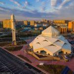 Mosque of Ryskeldy Kazhy in Astana