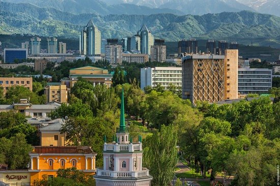 Almaty - the view from above, Kazakhstan, photo 10