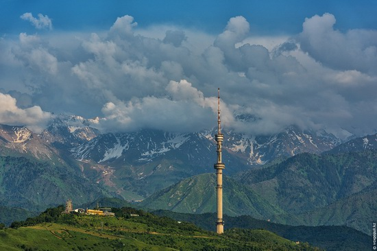 Almaty - the view from above, Kazakhstan, photo 11