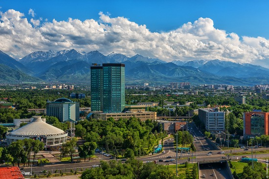 Almaty - the view from above, Kazakhstan, photo 12