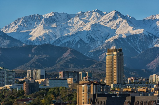 Almaty - the view from above, Kazakhstan, photo 13