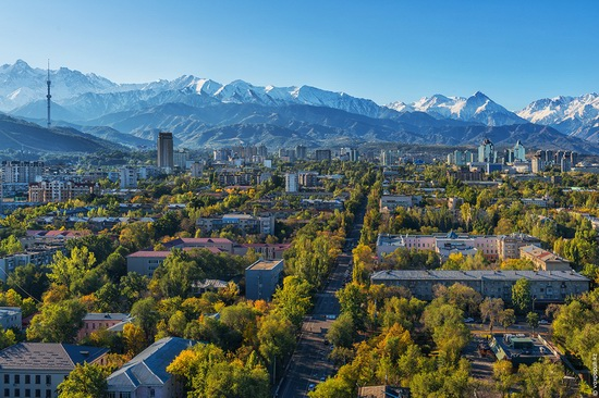 Almaty - the view from above, Kazakhstan, photo 14