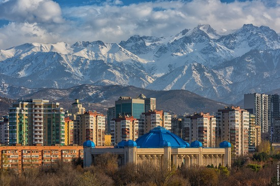 Almaty - the view from above, Kazakhstan, photo 17