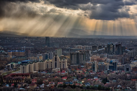 Almaty - the view from above, Kazakhstan, photo 3