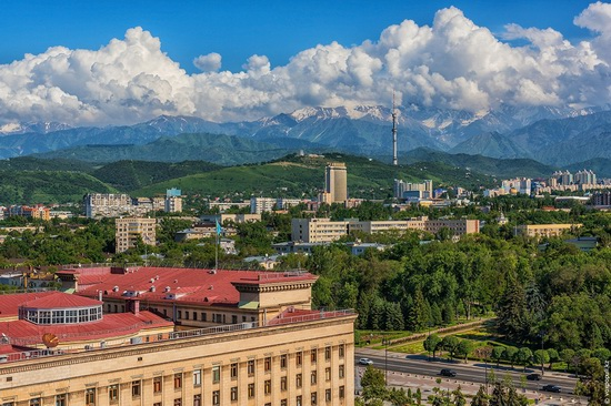 Almaty - the view from above, Kazakhstan, photo 9