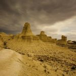 Bizarre Chalk Cliffs of Akkergeshen Plateau
